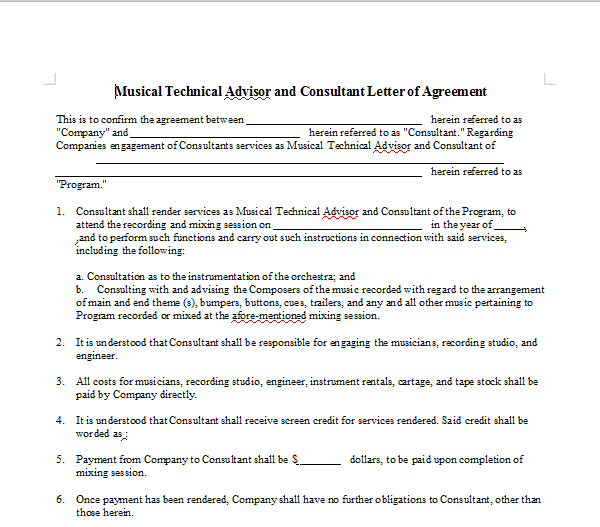 EVENT SPONSORSHIP CONTRACT OnlineMusicContractsCom – Event Contract Agreement